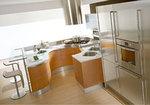 комфортни кръгли кухни солидни