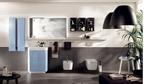 шкафове за баня с механизми модернистични