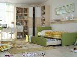 Детска стая с ъглов гардероб