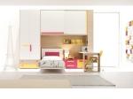 Поръчкови мебели за детска стая от пдч