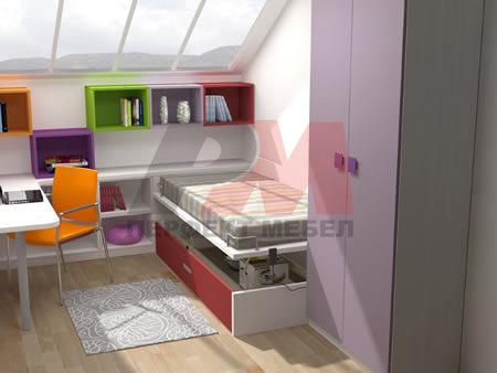 Модерни поръчкови мебели за детски стаи по поръчка София