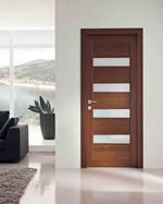 луксозни интериорни врати със стъкло доброкачествени