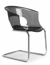 Дизайнерски стол сив