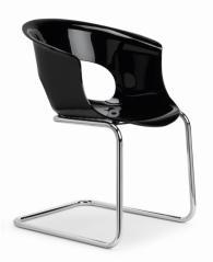 Черен дизайнески стол