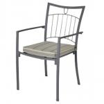 Комфортен железен кован стол София