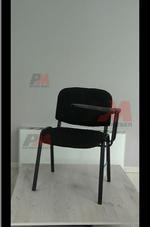 посетителски офис стол с масичка с гаранция
